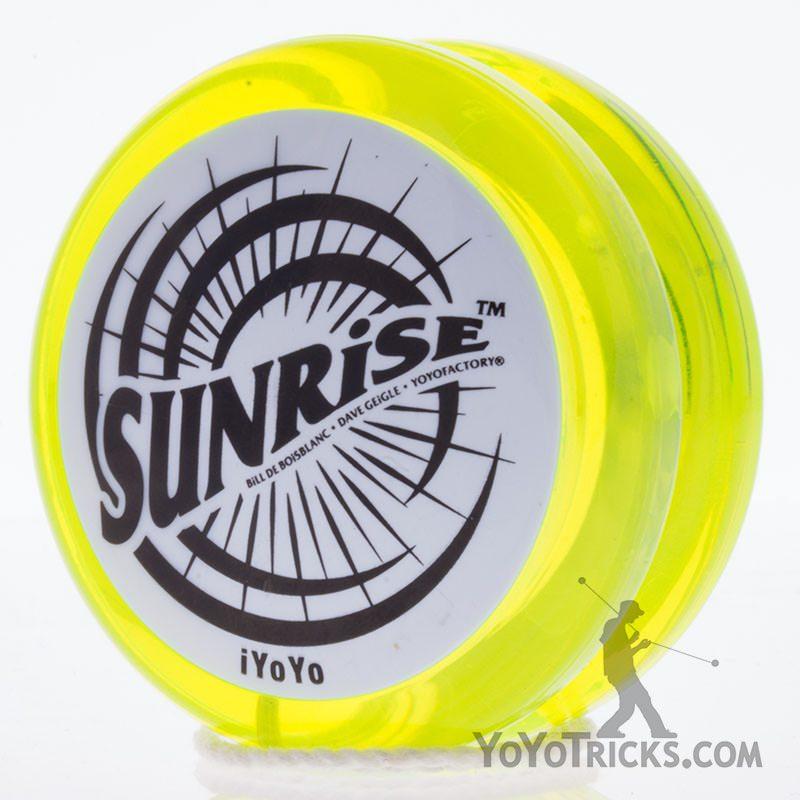 sunrise yoyo by iyoyo yellow white cap