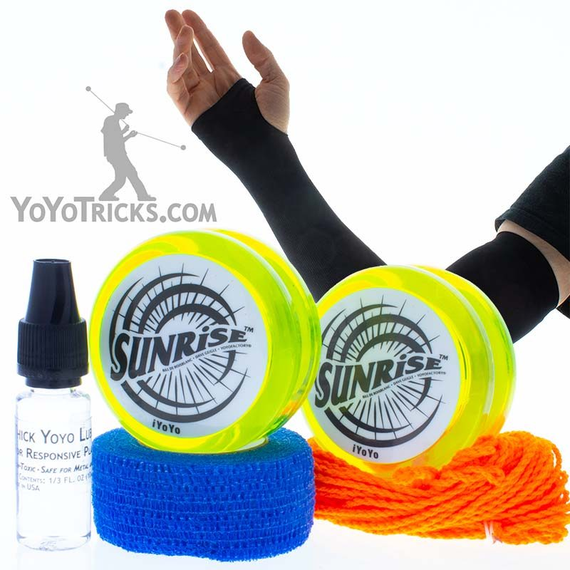 sunrise yoyo two handed pack