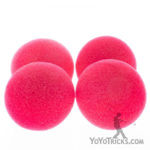 Red Magic Sponge Balls