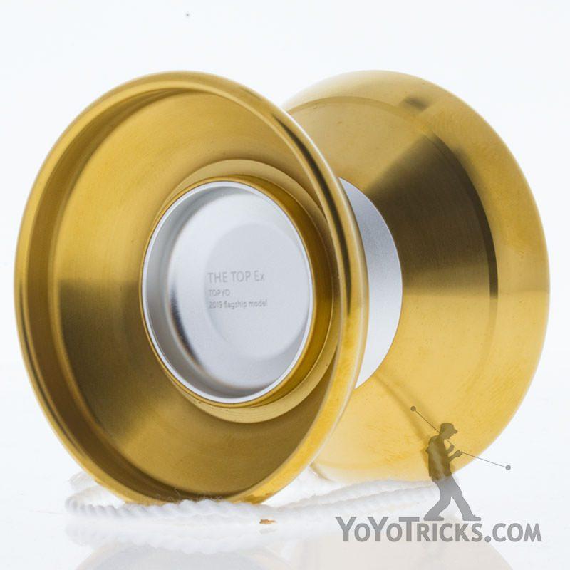 silver gold rims topex yoyo topyo