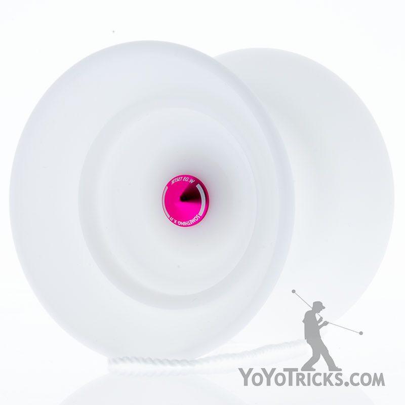 jetset egw yoyo white pink spike something