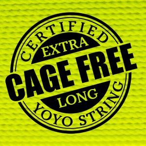 Yellow Extra Long Cage Free YoYo String