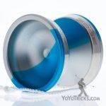 edge yoyo blue silver fade silver rings