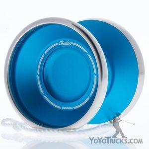 aqua bi-metal shutter yoyo