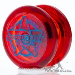 red spinstar yoyo