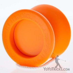 orange orange cap yoyofactory replay pro yoyo