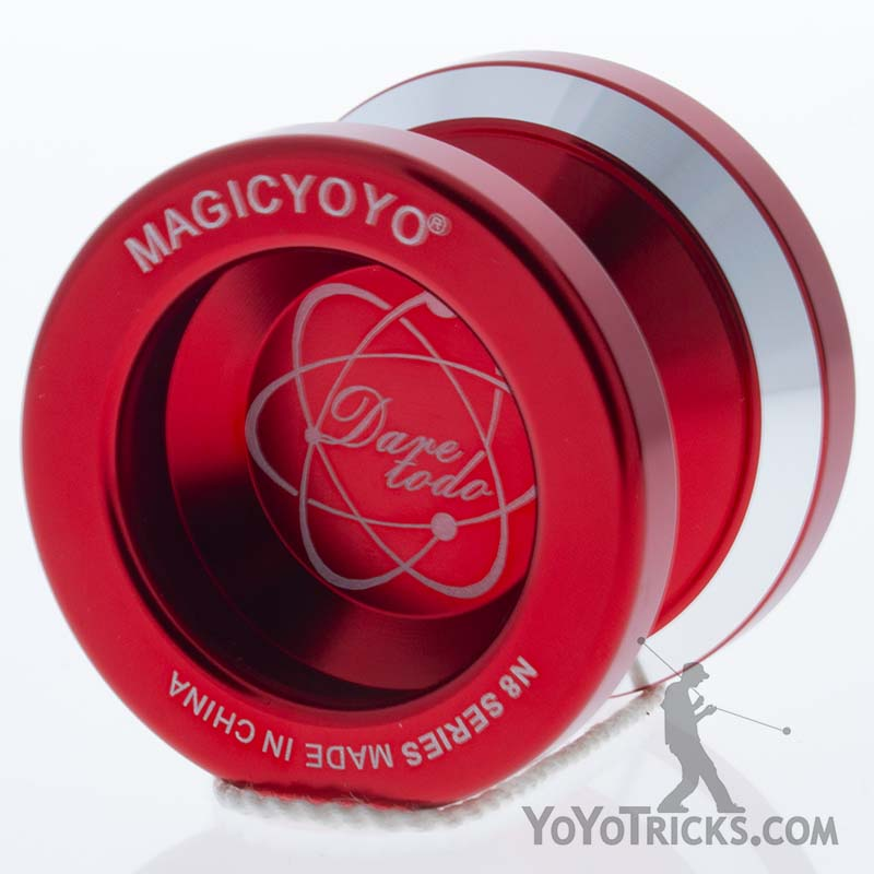 red n8 yoyo magic yoyo