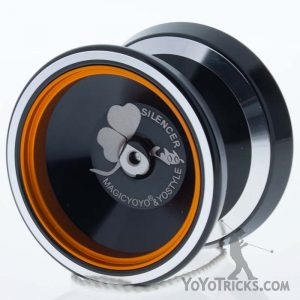 black gold ring silencer yoyo magic yoyo