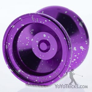 purple silver v1 yoyo magic yoyo