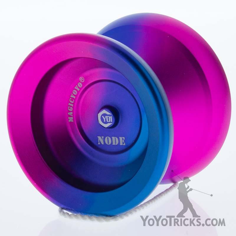 blue pink purple fade yo1 node yoyo magic yoyo