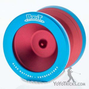 red aqua boost afterburner yoyo yoyofactory