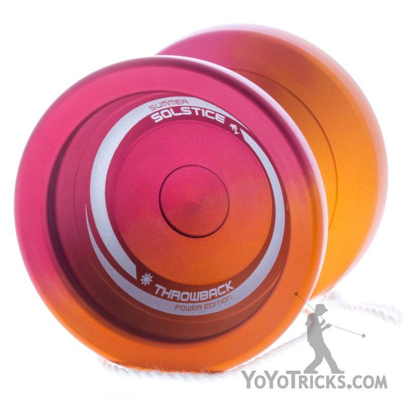 Summer Solstice Yoyo Red Orange Fade