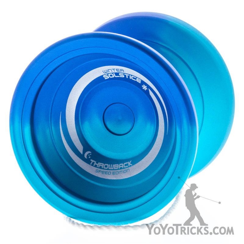 Winter Solstice Yoyo Blue Aqua Fade