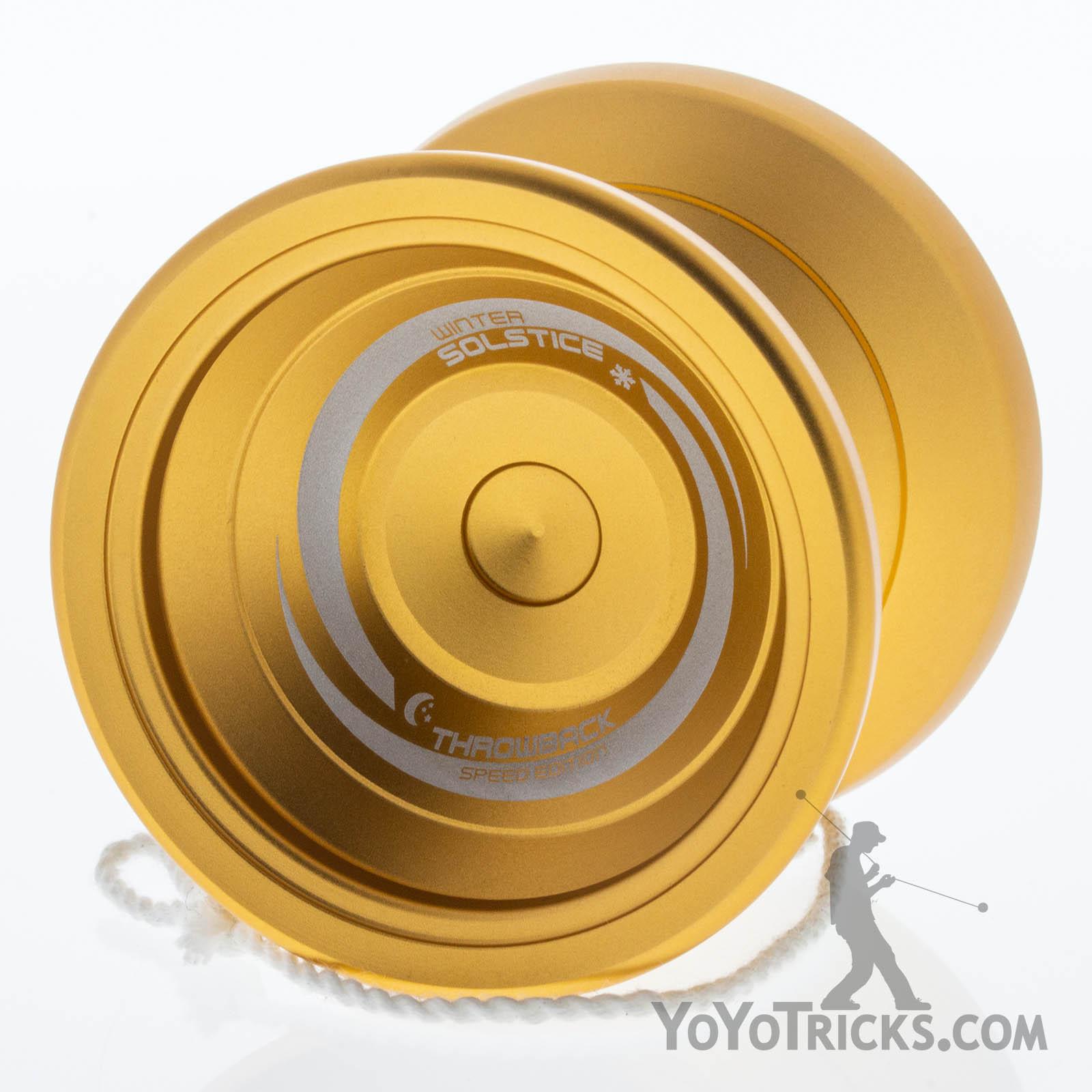 Winter Solstice Yoyo Gold