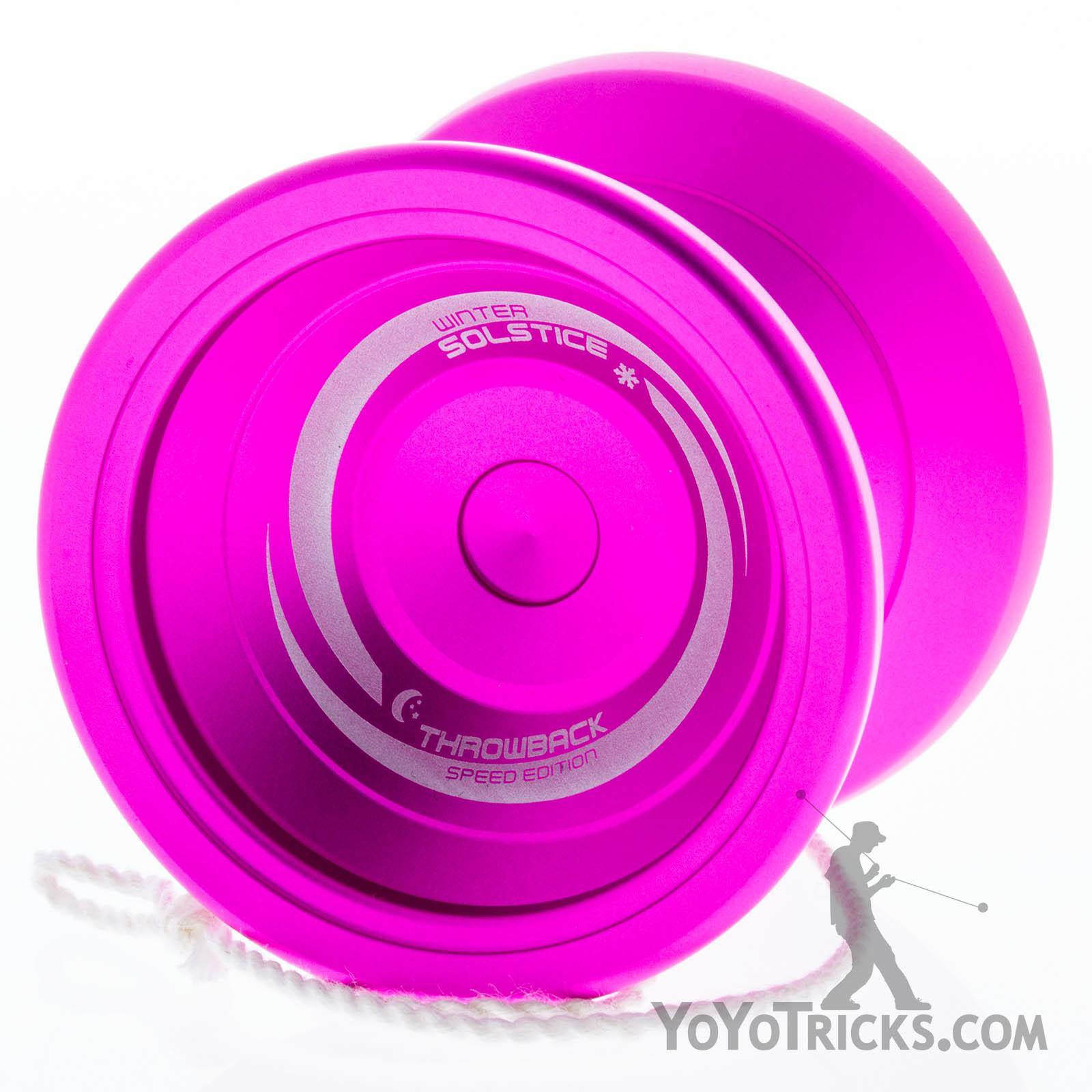 Winter Solstice Yoyo Pink