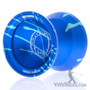 Blue-With-Aqua-Splash-Atlas-Yoyo