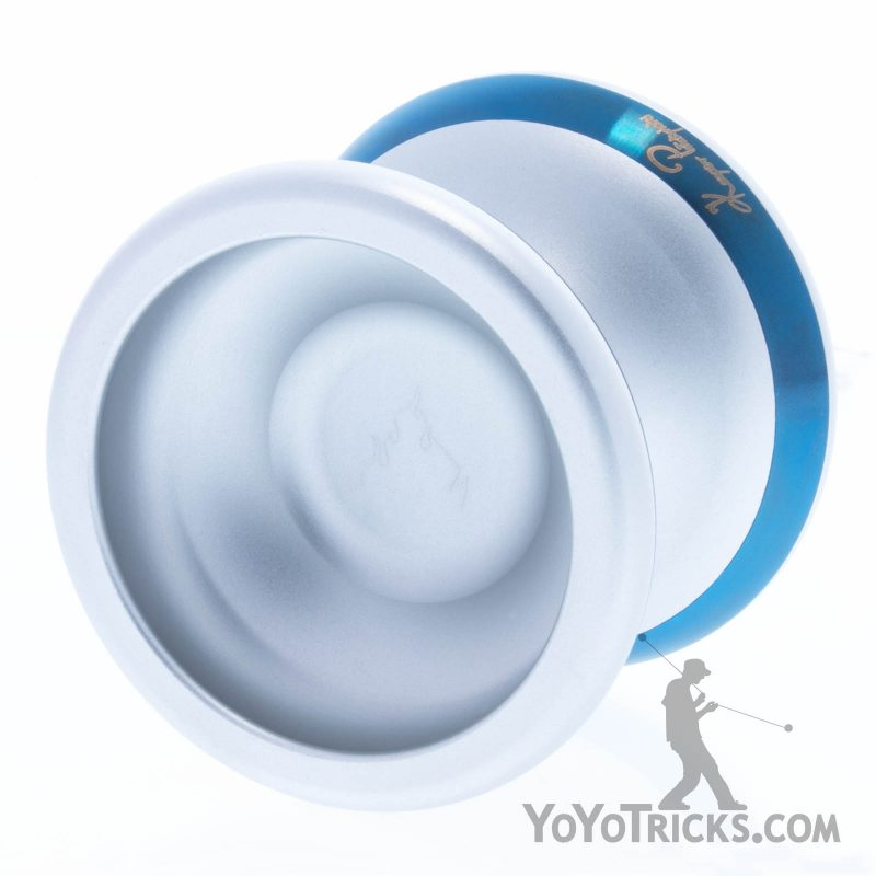Silver-With-Blue-Rims-Flame-Yoyo