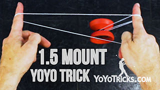 One-and-a-Half Side-Mount Yoyo Trick