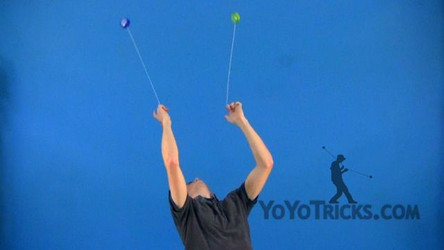 2A #20 Two-Handed Vertical Loops Yoyo Video