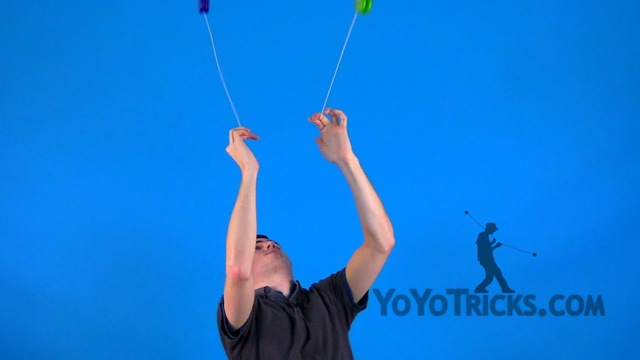 2A #25 Two-Handed Reach for the Moon Yoyo Video