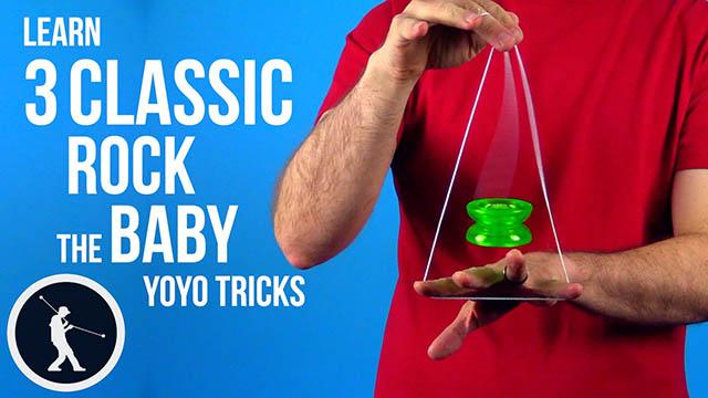3 Classic Rock the Baby Yoyo Trick