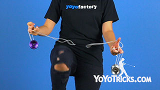 Knee Strike Yoyo Trick
