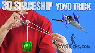 3D Spaceship Yoyo Trick