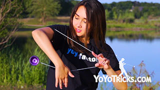 Ann Connolly Yoyo Pro – On a Midsummer's Eve Yoyo Trick