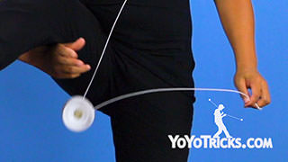 Arm and Leg Switcheroo Yoyo Trick
