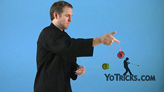 Assisted Barrel-Rolls (3A) Yoyo Trick