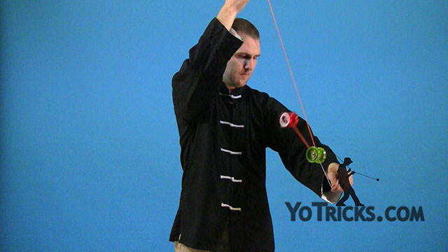 Assisted Front-Mount Yoyo Trick
