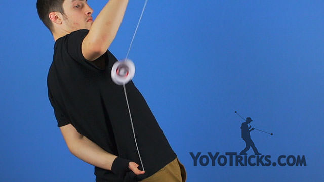 Back Attack Yoyo Trick