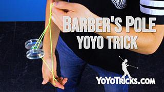 Barber's Pole Yoyo Trick