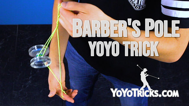 Yoyo tricks - Barbers_Pole