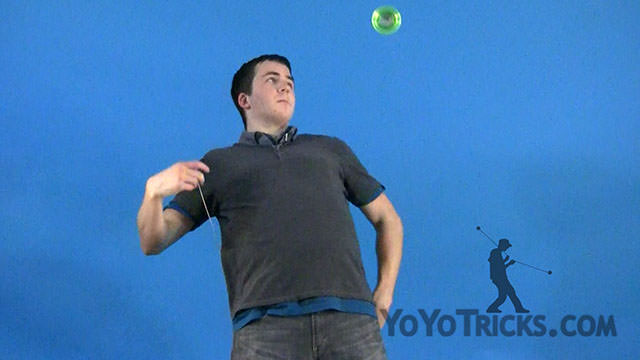 Behind the Back Orbits Yoyo Trick