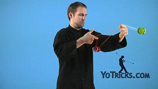 Blue-Line Mount Yoyo Trick
