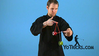 Blue Line Rolls Yoyo Trick