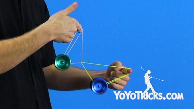 Blueline Boing Yoyo Trick