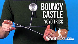 Bouncy Castle Yoyo Trick