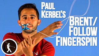 Brent and Follow Finger Spins Yoyo Trick