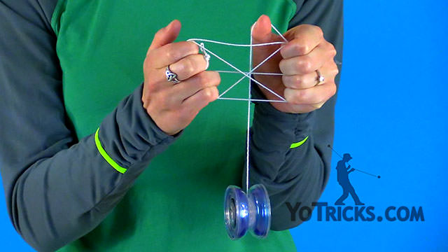 British Flag Yoyo Trick