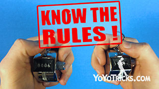 How to Become a Yoyo Champion: Vol. 2 Know the Rules