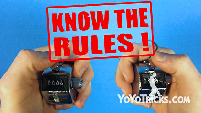 How to Become a Yoyo Champion: Vol. 2 Know the Rules Yoyo Video