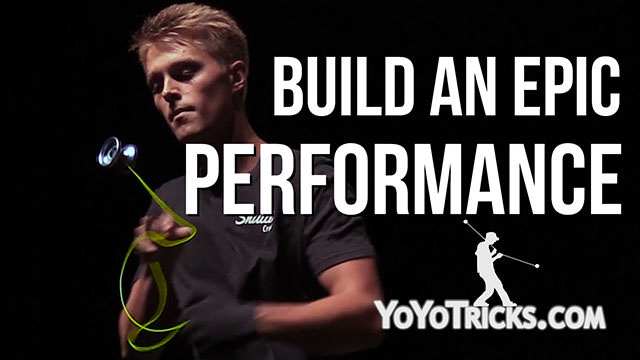 How to Become a Yoyo Champion: Vol. 4 Build an Epic Routine (Performance Evals) Yoyo Video