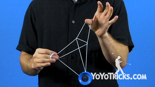 Chopstick Tower Yoyo Trick