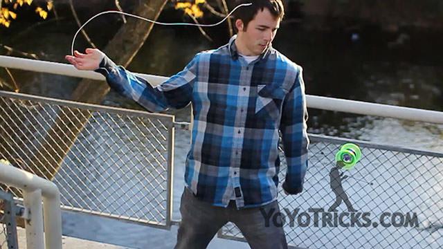 Connor Scholten 2a 4a YoYo Tricks – On Campus Yoyo Video