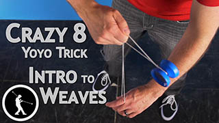Crazy 8 Yoyo Trick