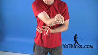 Cross-Arm Toss Yoyo Trick
