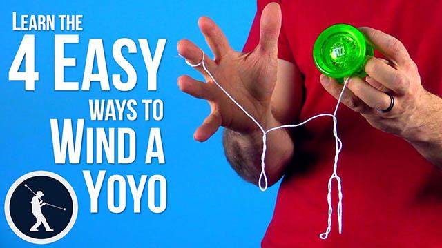 4 Easy Ways to Wind a Yoyo Yoyo Trick