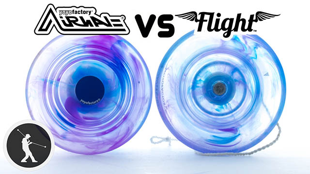 Flight vs. Airwave Yoyo Review Yoyo Trick